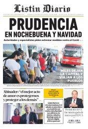 Listín Diario 24-12-2020