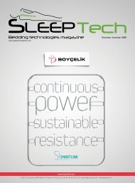 SleepTech November/ December 2020