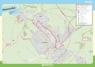 Newmarket Cycle Map