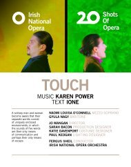 Touch Programme Book