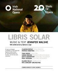 Libris Solar Programme Book