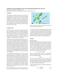 Estimation of facies probabilities on the Snorre field using ...