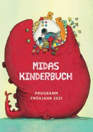 Vorschau Midas Kinderbuch Frühjahr 2021