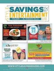 Style Savings and Entertainment Guide - January 2021