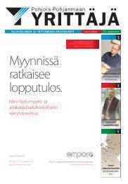 Pohjois-Pohjanmaan - Suomen Yrittäjät