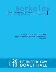 Limiting Employee Liability Under the CFAA - Berkeley Technology ...