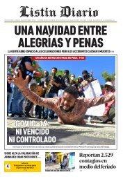 Listín Diario 25-12-2020