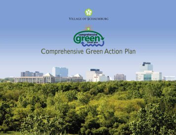 Comprehensive Green Action Plan - Village of Schaumburg