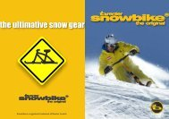 Booklet 2013 - best bike for snow 1-14 english deutsch ... - Snowbike