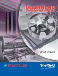 Makrolon Polycarbonate Fabrication Guide