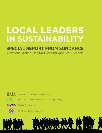 Local Leaders in Sustainability. Special Report from Sundance