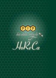Letak HoReCa - PIP