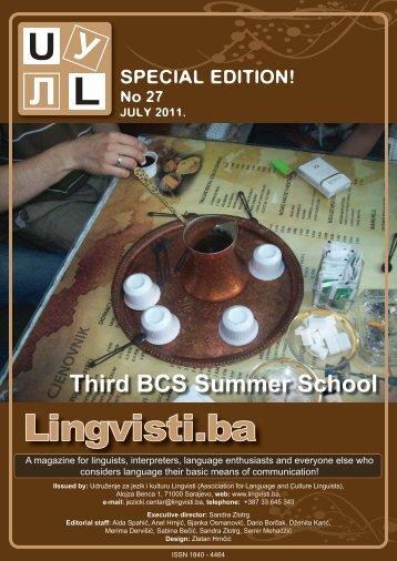 info - Udruženje za jezik i kulturu Lingvisti