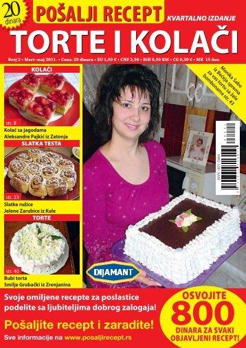 TORTE I KOLAČI - World Kiosk Online