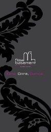 Web menu.pdf - Basement
