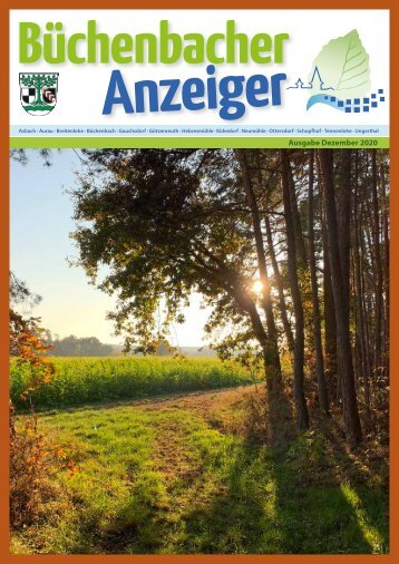 Dezember 2020 - Büchenbacher Anzeiger