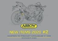 Arrow - New items December 2020