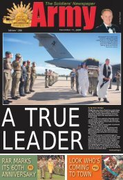 Edition 1204, December 11, 2008 - Department of Defence
