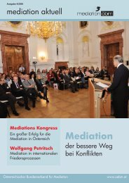 Mediation - ÖBM
