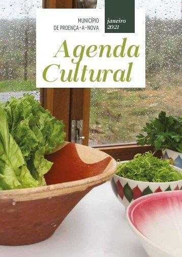 Agenda Cultural de Proença-a-Nova - Janeiro 2021