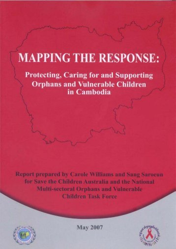 MAPPING THE RESPONSE - National AIDS Authority