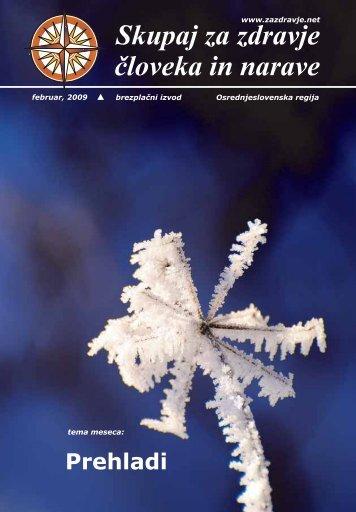 1 notranje strani februar 09 - Skupaj za zdravje človeka in narave