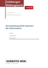 SOKRATES WEB - IT-Betreuung - Salzburg.at