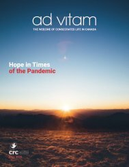 """ad vitam - Fall 2020: """"Hope in Times of the Pandemic"""""""