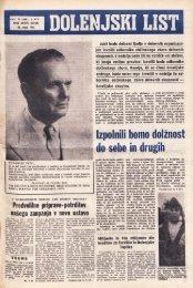 23. maj 1963 (št. 686) - Dolenjski list