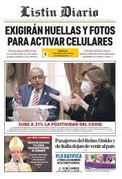 Listín Diario 29-12-2020