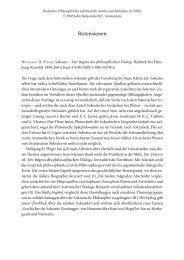 Wolfgang H. Pleger, Sokrates. Der Beginn des Philosophischen
