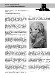 Sokrates (Typus A) - klassische archäologie