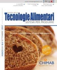 Tecnologie Alimentari N° 6 2012
