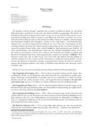 Platon - Gorgias - huber-tuerkheim.de