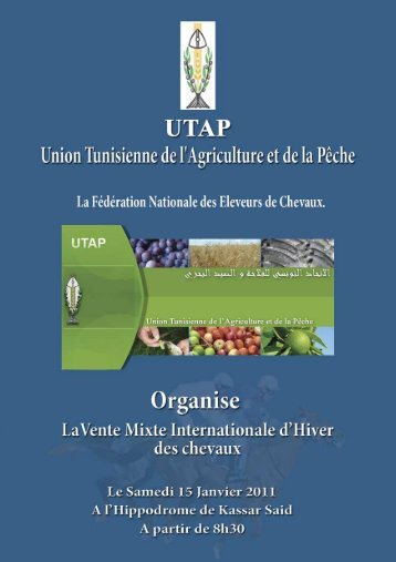Livre UTAP_Mise en page 1 - Tunisie galop