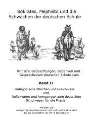 Teil 1: Pädagogische Märchen und Gleichnisse des Sokrates