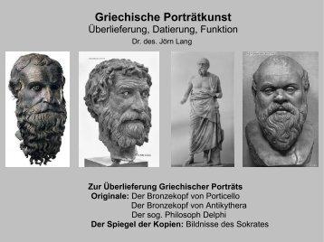 Der Bronzekopf von Porticello