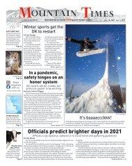 Mountain Times - Vol. 49, No. 53 - Dec. 30, 2020 - Jan 2, 2021