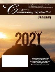 Cypress South January 2021