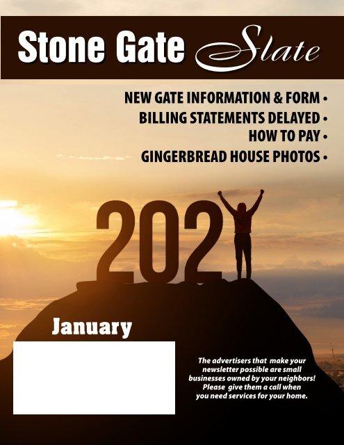 Stone Gate January 2021