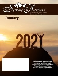 Sydney Harbour January 2021