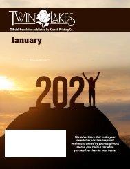 Twin Lakes January 2021