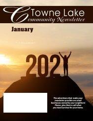 Towne Lake January 2021