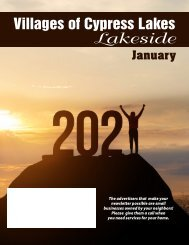 VCL Lakeside January 2021