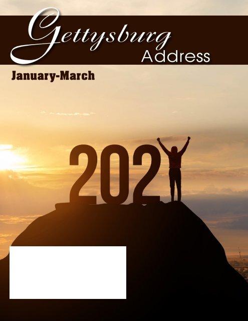 Gettysburg January 2021