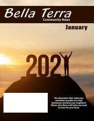 Bella Terra January 2021