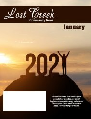 Lost Creek January 2021