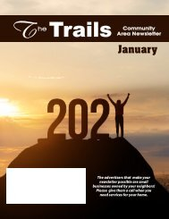 Oak Park Trails January 2021