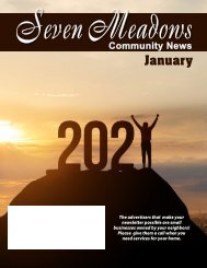 Seven Meadows January 2021