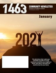 The 1463 January 2021